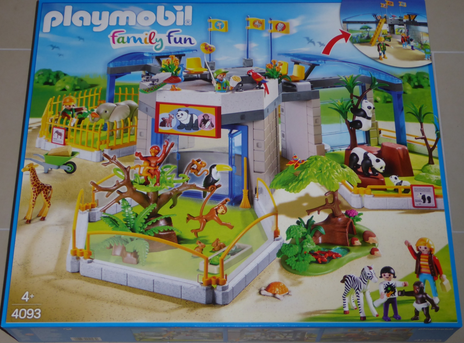 Playmobil 4093 Tierbaby Zoo