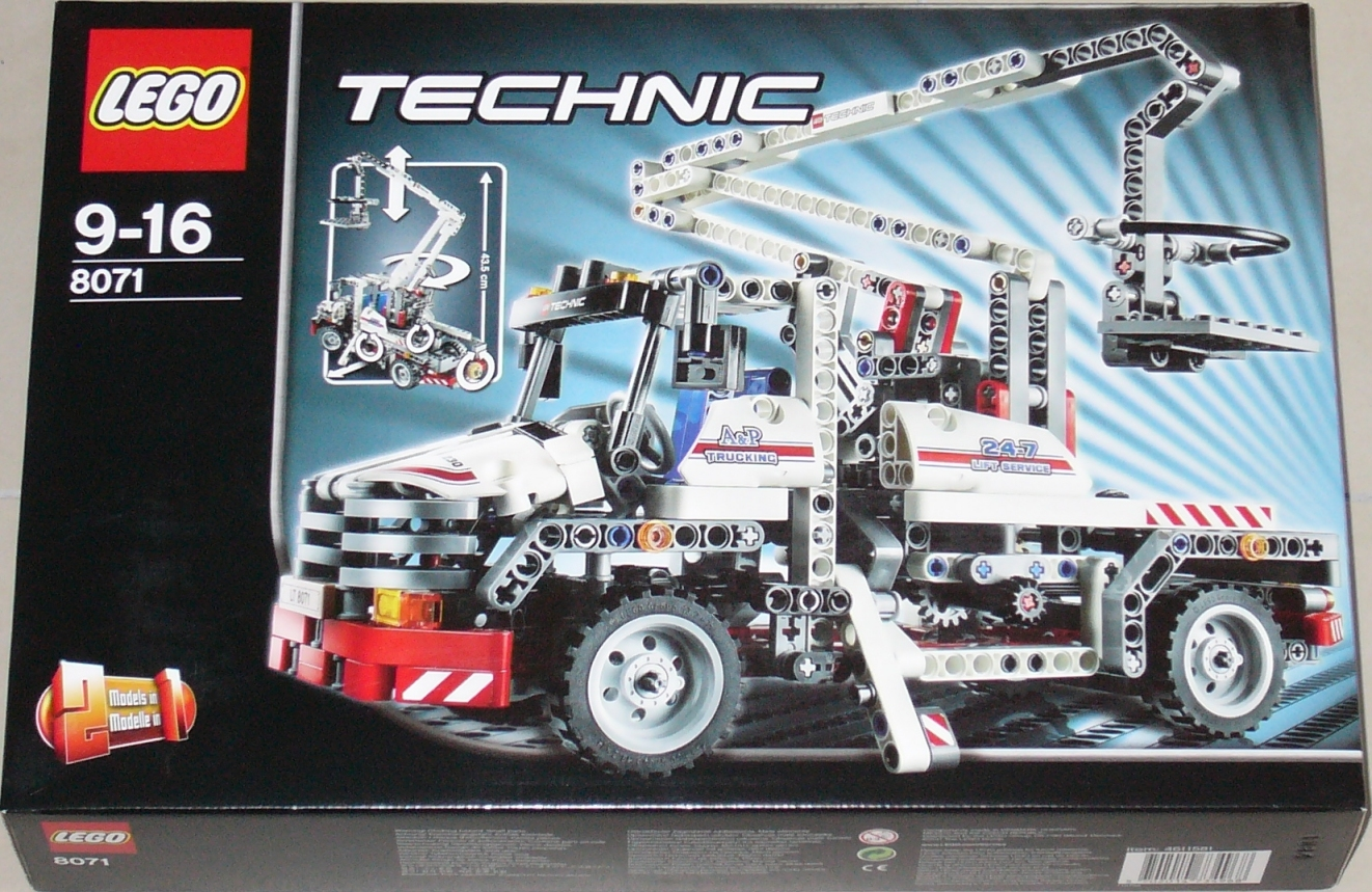 Lego 8071 Service Truck