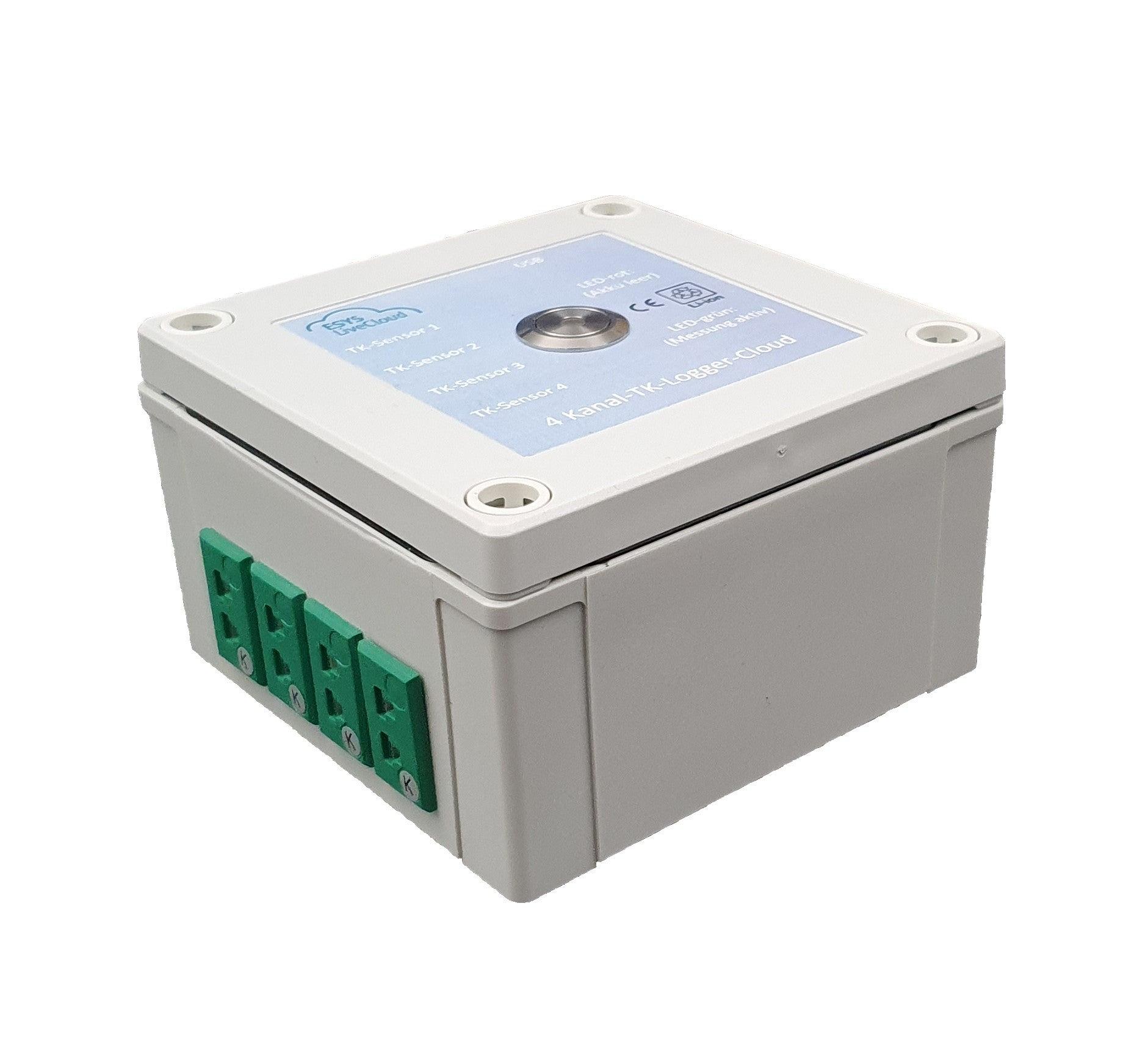 4 Kanal-TK-Temperatur-Datenlogger