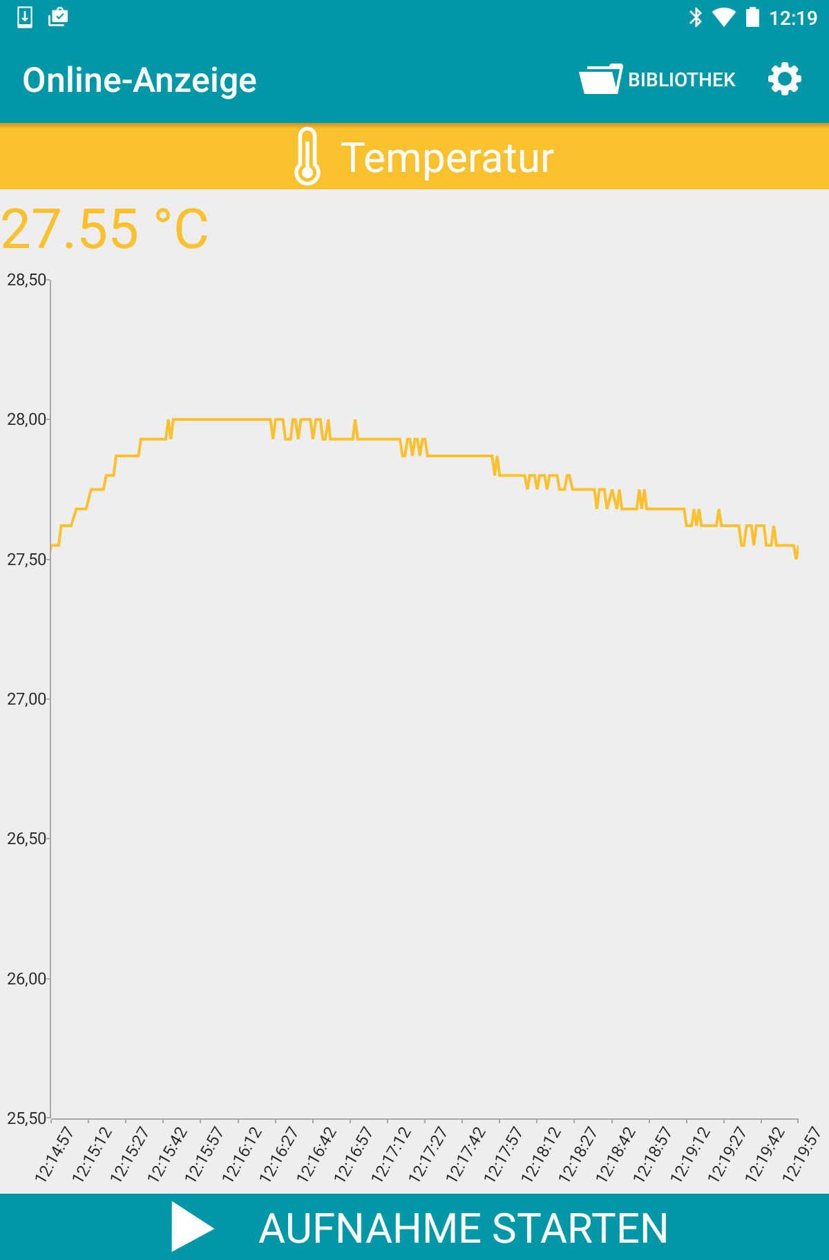Typ K Temperaturlogger blueDAN tempTK_4.0