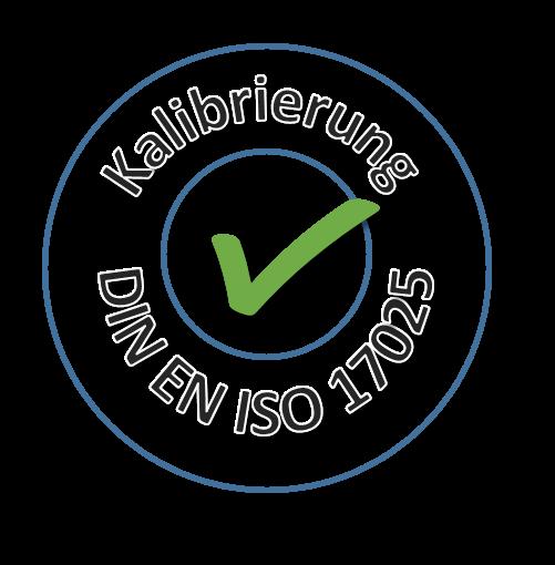 ISO-Kalibrierzertifikat Temperatur