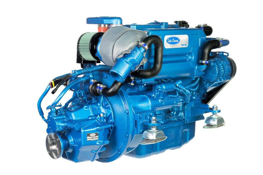 Solé SM 94 Marine Turbodiesel 94PS mit TM345 Wendegetriebe
