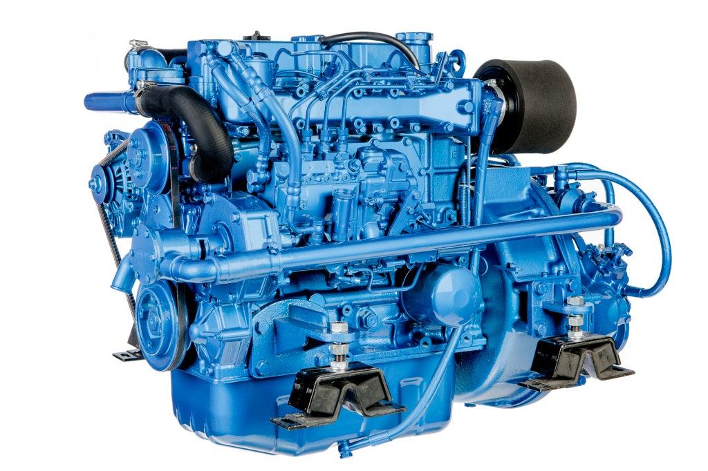 Solé Mini 74 Marinediesel 70PS mit hydraulischem Wendegetriebe
