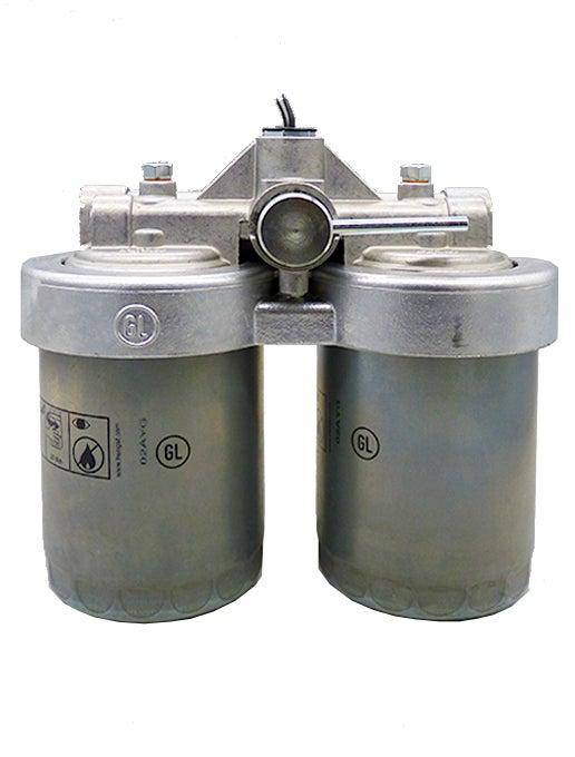 Doppelfilteranlage Hengst HWKU17L komplett, umschaltbar