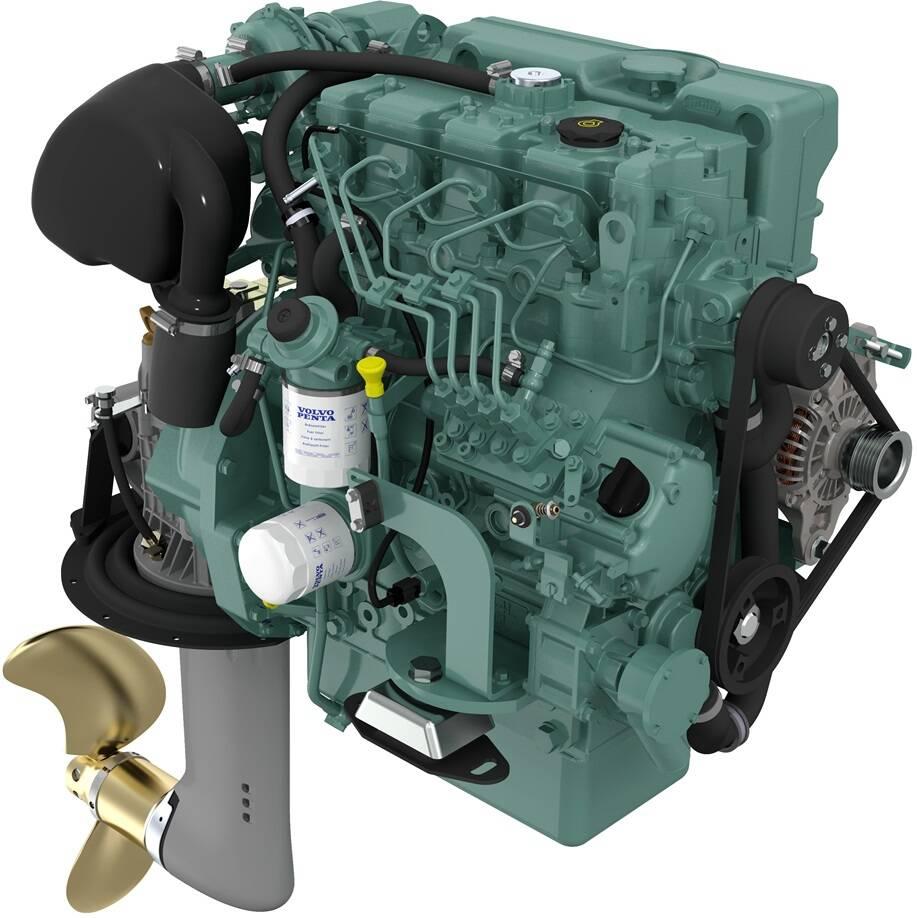 Volvo Penta D2-60 Marinediesel 60PS mit S150 Saildrive