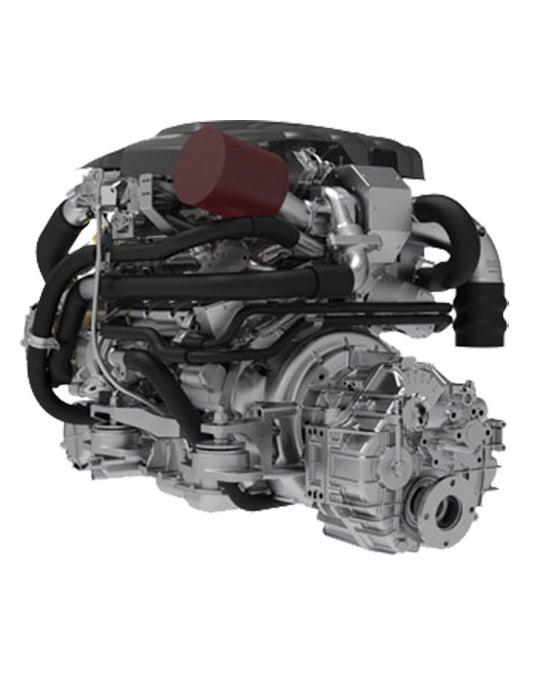 Hyundai Schiffsdiesel S270P mit Wendegetriebe