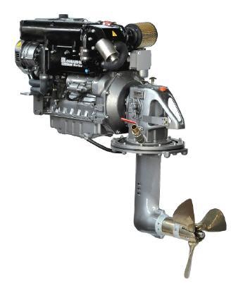 Lombardini LDW 2204SD Turbo 65PS mit Saildrive