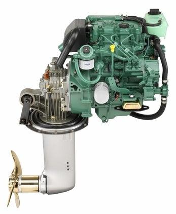 Volvo Penta D1-30 Bootsmotor 27PS mit Saildrive