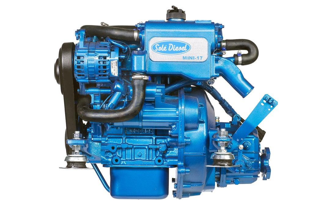 Solé Mini 17 Marinediesel 16PS