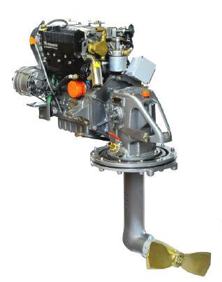Lombardini LDW 1003 -  29PS mit Saildrive