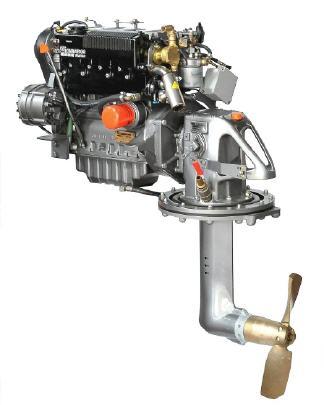 Lombardini Marinediesel LDW1404 38 PS Saildrive