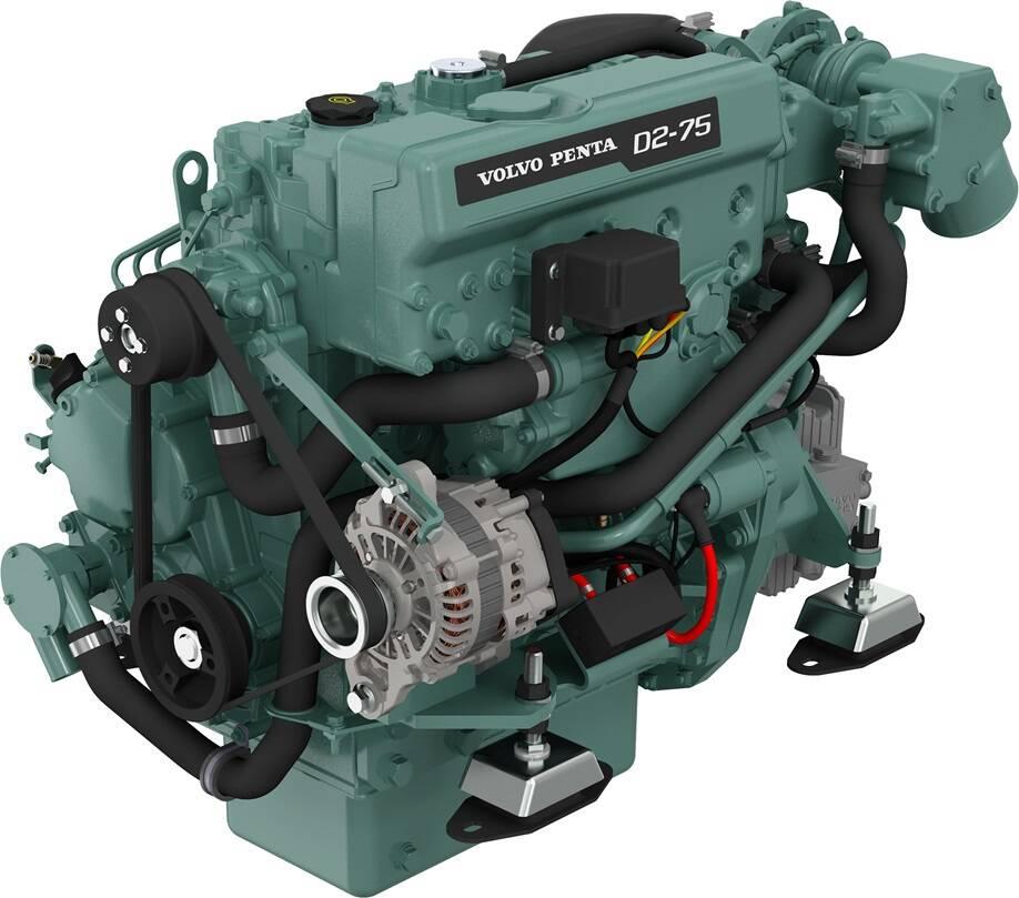 Volvo Penta D2-75 Marinediesel 75PS mit MS25 Wendegetriebe