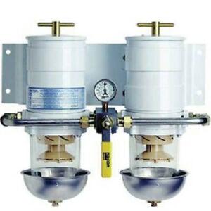 Parker Racor Doppelfilteranlage für Kraftstoff
