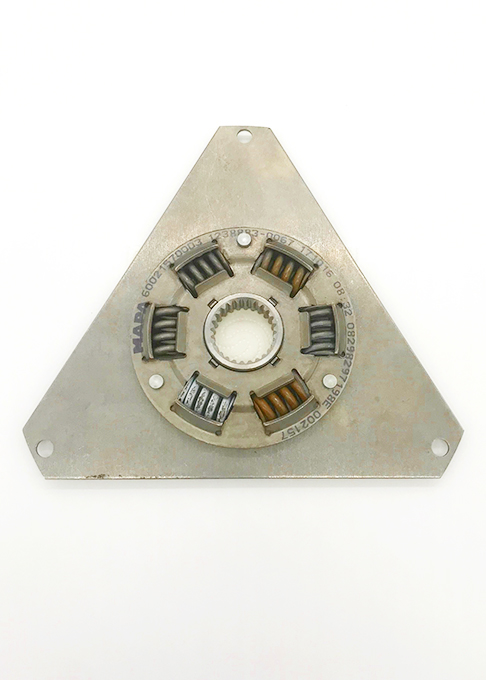 Dreieck Dämpferplatte Stahl, Ø 253 mm