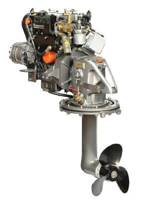 Lombardini LDW 702SD Bootsdiesel 20PS mit Saildrive