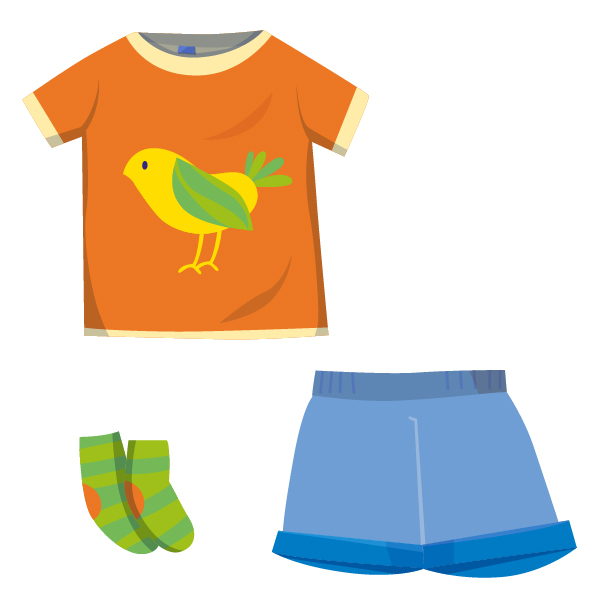 ❀ Sommer Outfit ❀ Unisex Kleidung ★ bunt