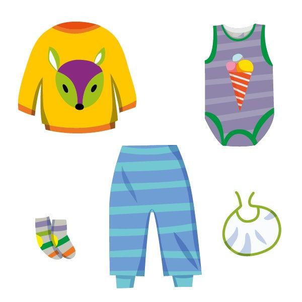 ❀ Sommer Outfit ❀ Baby Mädchen Kleidung ★ bunt