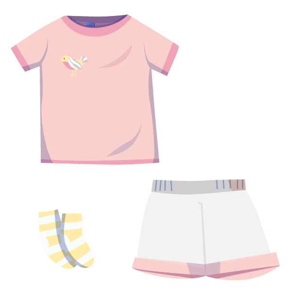 ❀ Sommer Outfit ❀ Mädchen Kleidung ★ pastell