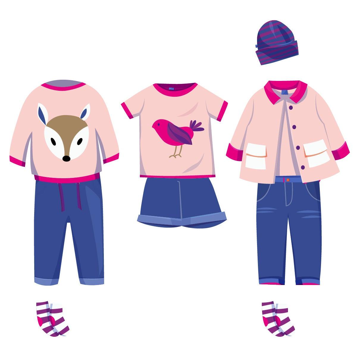 ❀ Sommer Box ❀ Mädchen Kleidung ★ pink
