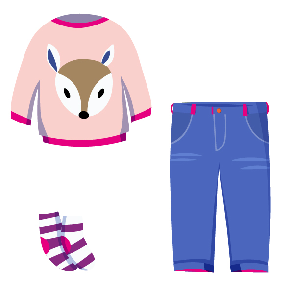 ❀ milder Sommer Outfit ❀ Mädchen Kleidung ★ pink
