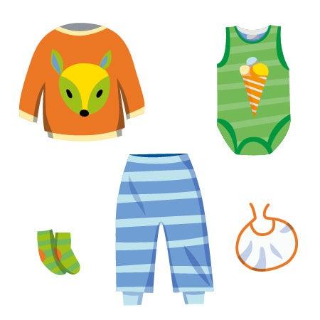 Baby Sommer-Box ❀ bunte Unisex Kleidung