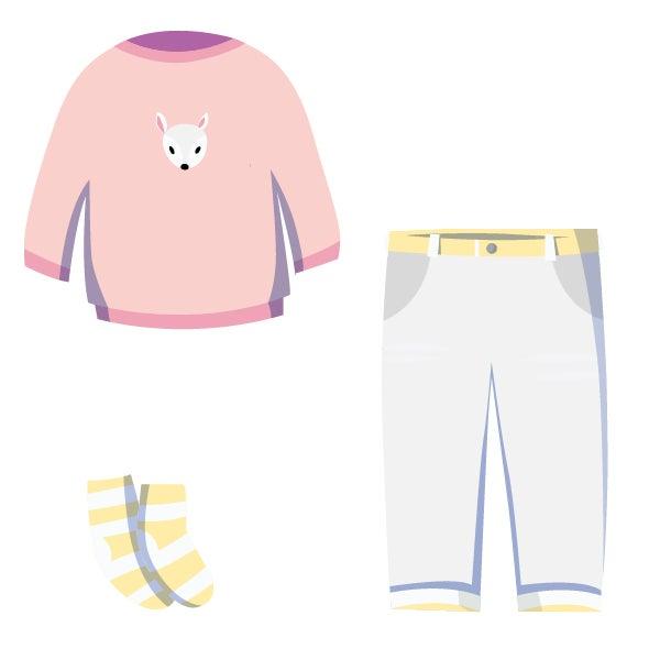❀ milder Sommer Outfit ❀ Mädchen Kleidung ★ pastell