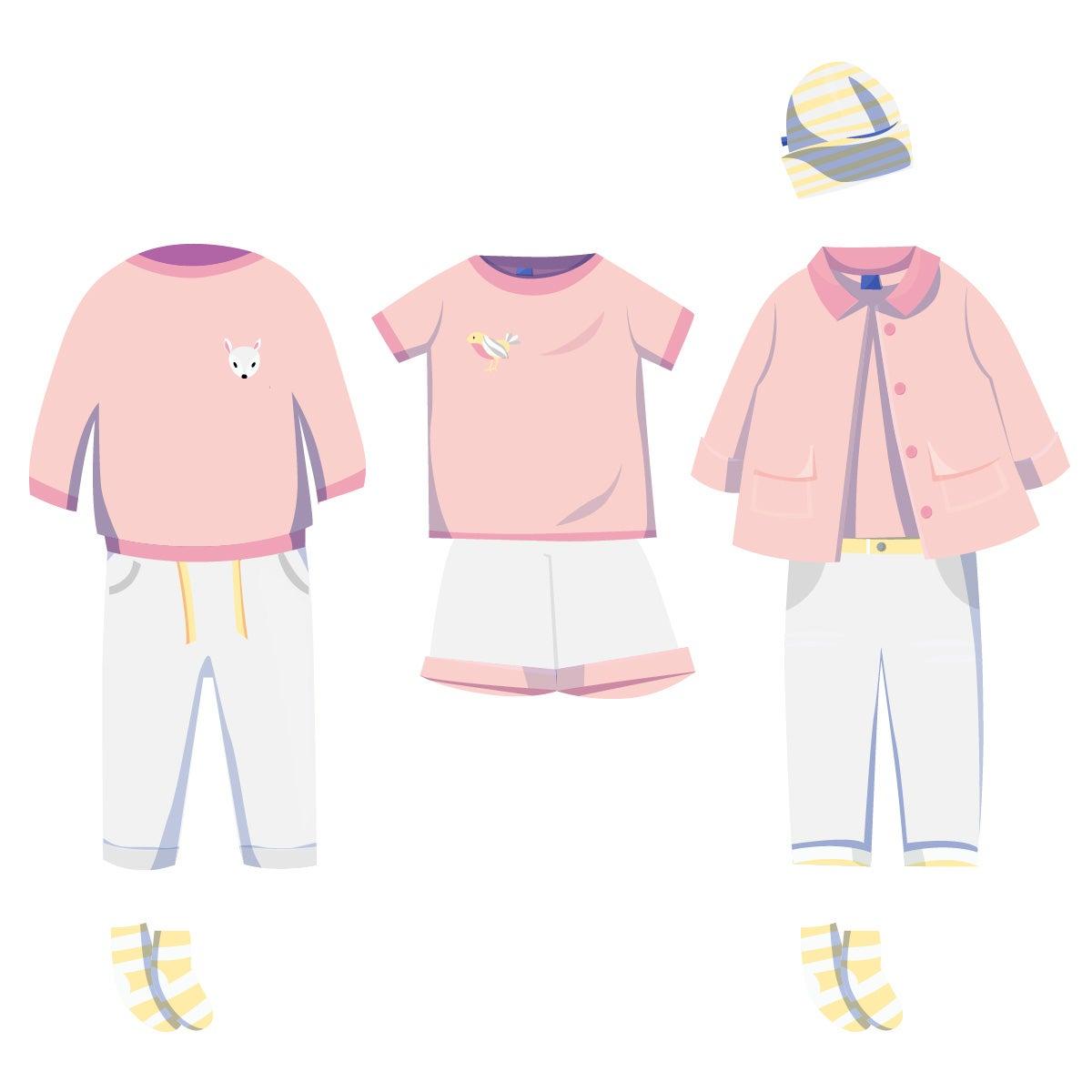 ❀ Sommer Box ❀ Mädchen Kleidung ★ pastell