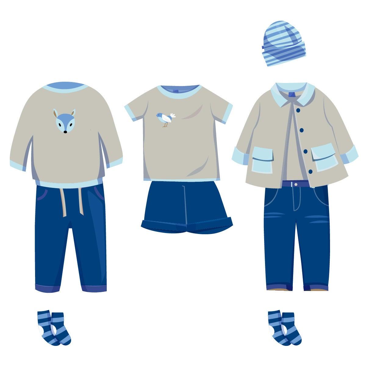 ❀ Sommer Box ❀ Jungen Kleidung ★ klassisch